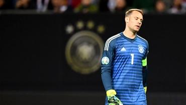 Manuel Neuer vrea să se retragă din naționala Germaniei. Portarul se află în confilct cu Marc-Andre ter Stegen
