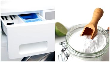 Cum cureți sertarul mașinii de spălat cu bicarbonat de sodiu. Trucul simplu, ieftin și eficient