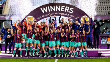 FC Barcelona a câștigat Liga Campionilor la fotbal feminin / Alexandra Dulgheru a pierdut finala de la Saint-Gaudens, dar urcă 231 de locuri în clasament