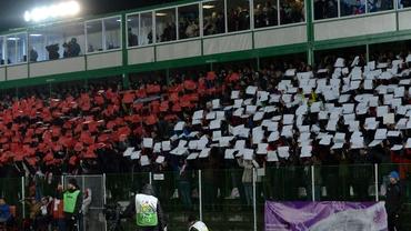 Scandal în Liga 1! Melodie jignitoare la adresa maghiarilor, pe stadion