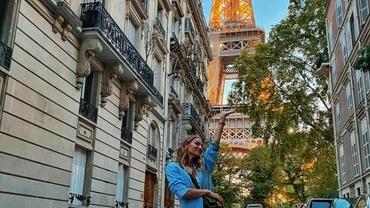 Ioana Chisiu, sperietură la Paris. Vedeta se afla în preajma Turnului Eiffel când zona a fost evacuată