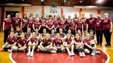"""Andreea Marin se alătură proiectului umanitar al echipei de handbal feminin Rapid: """"Să ne unim forțele"""""""