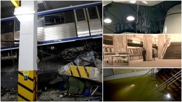 Incidente grave la metrou. Cum a ajuns circulaţia să fie blocată timp de 5 zile: