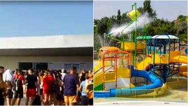 Sute de oameni s-au înghesuit la inaugurarea celui mai mare aqua-park din sud-estul României. Atracțiile centrului din Galați