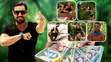 Câți bani s-au câștigat, de fapt, la Survivor România! Sumele uriașe încasate de cei cinci care luptă pentru marele premiu