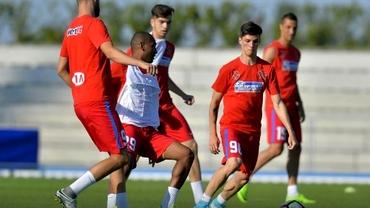 FCSB-Team Regio 7-0. Budescu şi Gnohere, spectacol total! Duble!