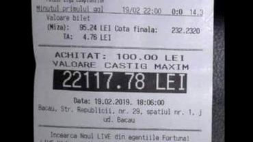A mizat 100 de lei pe scor exact 0-0 în meciurile de aseară din Champions League! Asta înseamnă să fii un român fericit dimineața. Câștig uriaș la pariuri. FOTO