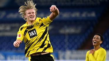 Erling Haaland iubește să joace în Champions League! Cifre ireale ale norvegianului