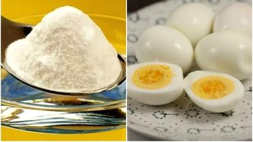 Cum cureți ușor și rapid ouăle fierte. Trucul minune cu bicarbonat de sodiu