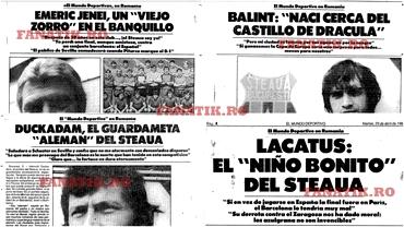 Au simţit catalanii cine vor fi eroii finalei de la Sevilla?! Duckadam, Lăcătuş şi Balint, interviuri înainte de Steaua - Barcelona