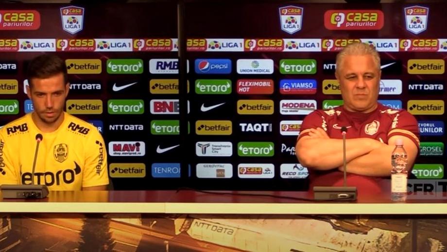 """Alex Chipciu şi Marius Şumudică s-au împăcat: """"Am făcut o greşeală şi îmi pare rău"""". Video"""
