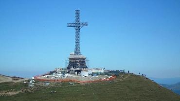 Crucea de pe Caraiman a fost reabilitată. Cum arată acum monumentul