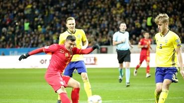 Înfrângerea istorică a României cu Suedia, 1-7, intră în top cinci cele mai drastice înfrângeri ale naționalei