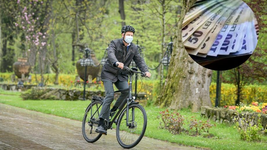 Cât costă bicicleta președintelui Klaus Iohannis! E nemțească și dai o avere pe ea
