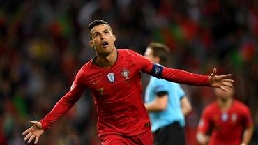 Cristiano Ronaldo a devenit cel mai bun marcator din istoria naționalelor! Emoții mari până la gol