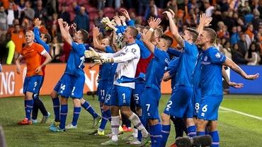 VIDEO / Sărbătoare nebună în Islanda! Mii de oameni au petrecut pe străzi după calificarea la Euro 2016