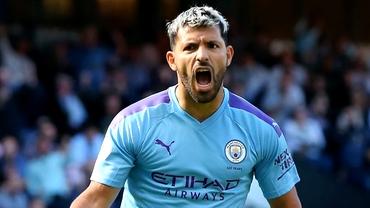 Premier League etapa a 38-a. Recordul incredibil bătut de Sergio Aguero la ultimul meci din campionat pentru Manchester City