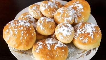 Gogoși la cuptor, rețetă simplă și delicioasă. Sunt pufoase, aromate și se fac ușor