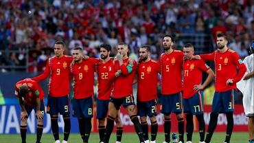 Prima reacţie a spaniolilor după eliminarea de la CM 2018!