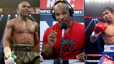 SURPRIZĂ! Mike Tyson îl CRITICĂ pe Mayweather înainte de meciul cu Pacquiao!