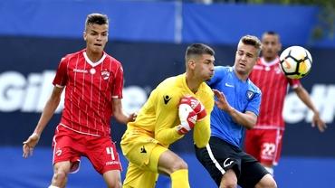 """Încă un român în Premier League? Ștefan Fara, portarul lui Dinamo, este dorit de West Ham: """"Este o discuție"""""""