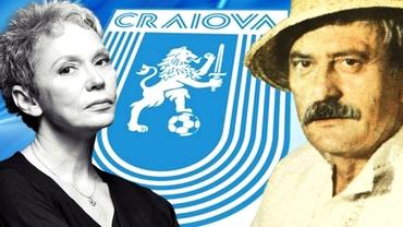 """Oana Pellea, mesaj de mulțumire pentru Universitatea Craiova: """"Tata avea mereu emoții când era meci"""". Video"""