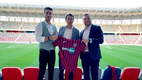 Casa de pariuri Get's Bet a dat lovitura! Este sponsor principal al CSA Steaua Bucureşti, una dintre cele mai iubite echipe din România