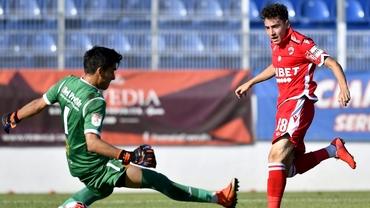 Lui Ahmed Bani îi priesc meciurile cu Academica. A marcat un singur gol pentru Dinamo chiar împotriva Clinceniului