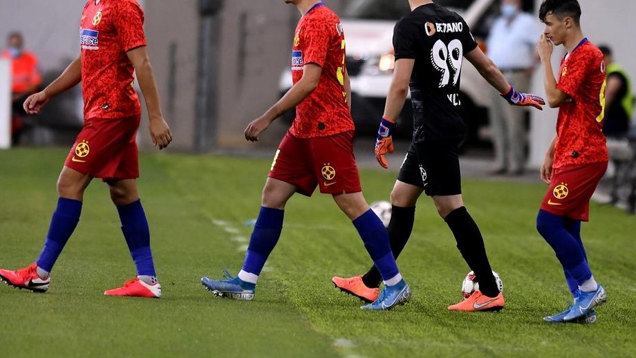 Andrei Vlad, un nou derby de coșmar! Susic și Itu mențin echipa lui Dan Petrescu în lupta pentru titlu. Notele după FCSB - CFR Cluj 0-2