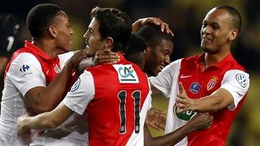 CUPA FRANŢEI / PSG şi Monaco se califică fără probleme în sferturi!