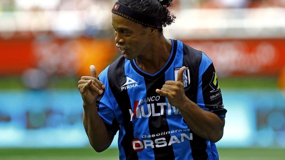 VIDEO / Ronaldinho a marcat primul său gol în Mexic!