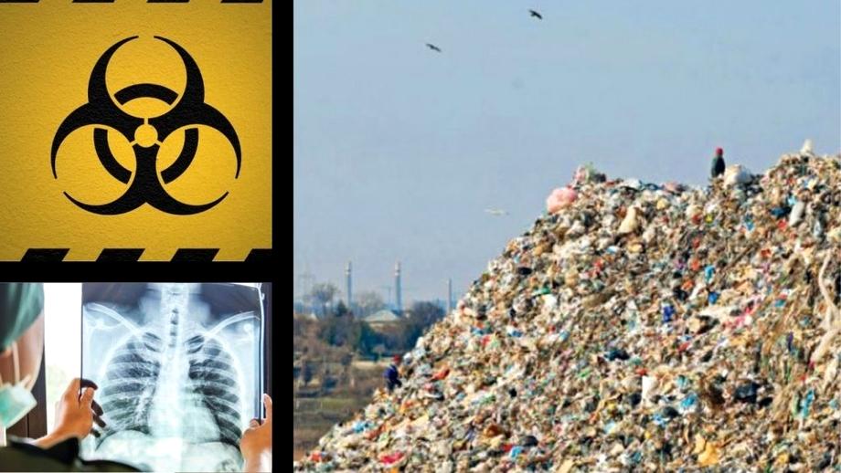 Moartea lovește necruțător în zona gropii de gunoi Glina! Morbiditate crescută cu 50% pentru locuitorii din zonă