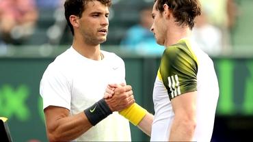 VIDEO / Dimitrov şi Murray au făcut faza anului în tenis! Schimb senzaţional