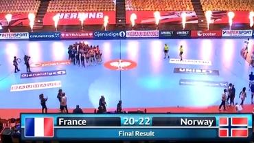 Live Blog CE de handbal feminin 2020. Norvegia câştigă Campionatul European pentru a opta oară