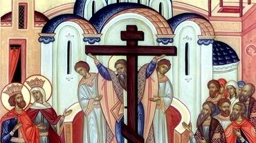 Calendar ortodox 14 septembrie 2021. Sărbătoare importantă pentru creștini ortodocși. E cruce roșie