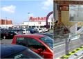 Hipermarket Auchan, închis parțial de ANPC. Inspectorii au găsit tone de produse lăsate în soare sau expirate