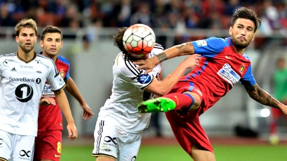 STEAUA. Foto. Fanii lui Dinamo, ÎMPOTRIVA rivalei de moarte, la Trondheim!