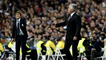 Ancelotti şi Conte au negociat transferul unui jucător în timpul meciului Chelsea - Bayern!