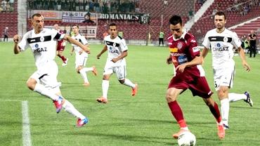 Gaz Metan-CFR Cluj 2-0. Coşmarul