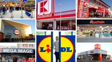Cât costă cumpărăturile online de la Mega Image, Carrefour, Kaufland sau Auchan, alternativa la restricţiile de după ora 18:00