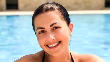Gabriela Cristea a slăbit foarte mult, după ce a fost criticată de fani! Primele imagini în costum de baie