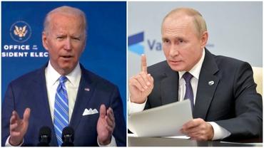 Cât de tare se tem americanii de ruși! Biden, al 7-lea președinte SUA care vrea o întâlnire amiabilă cu omologul de la Moscova