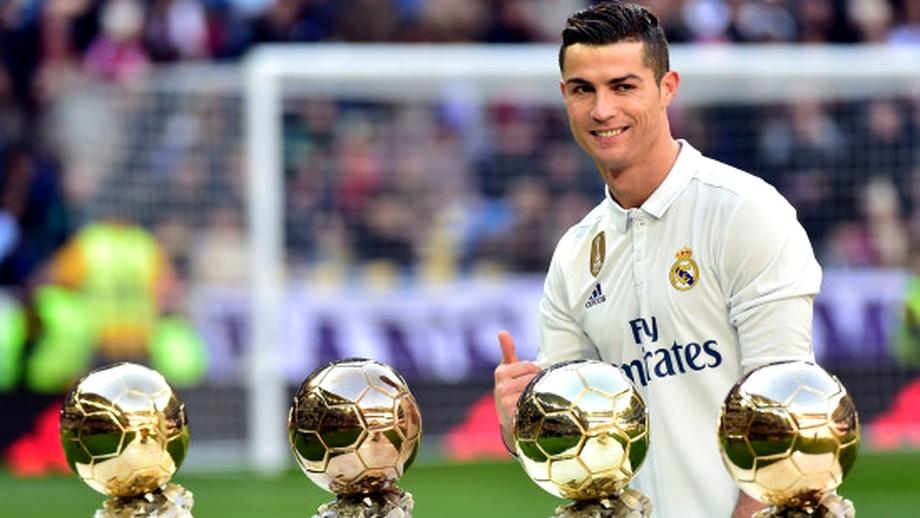 Cele mai bine plătite vedete din Europa! Pe ce loc se clasează Cristiano Ronaldo!