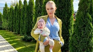 Fetița de 5 luni a lui Bogdan Vlădău, jignită în mediul online. Gina Chirilă a reacționat ca o leoaică