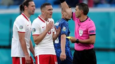 Ovidiu Hațegan, susținut după cea mai importantă decizie din Polonia - Slovacia 1-2: