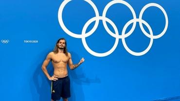 Robert Glință, reacții după finala olimpică la 100 metri spate. Ce a spus despre David Popovici