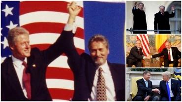 Cum au fost văzuți președinții României la Casa Albă! Întâlniri de grad zero cu americanii