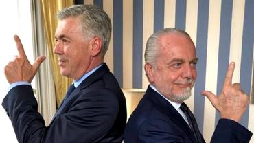 Patronul lui Napoli e mai rău decât Gigi Becali! De Laurentiis îl vrea înapoi pe Carlo Ancelotti după ce Gennaro Gattuso a pierdut patru din cinci meciuri