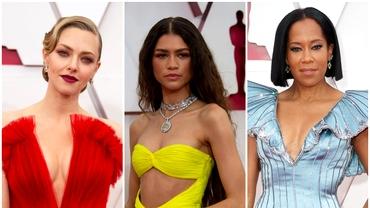 Oscar 2021: Cele mai impresionante ținute ale vedetelor prezente la gală