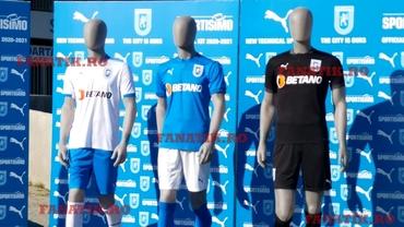 U Craiova şi-a prezentat noul echipament pentru sezonul 2020-2021!